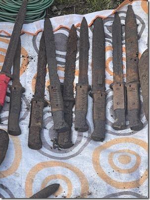 Полиция изъяла арсенал боеприпасов времен ВОВ (1)