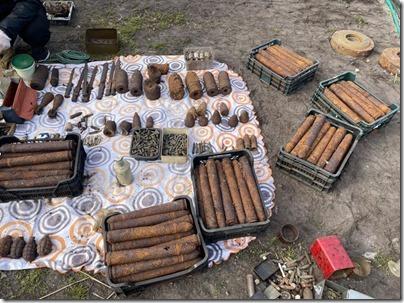 Полиция изъяла арсенал боеприпасов времен ВОВ (8)
